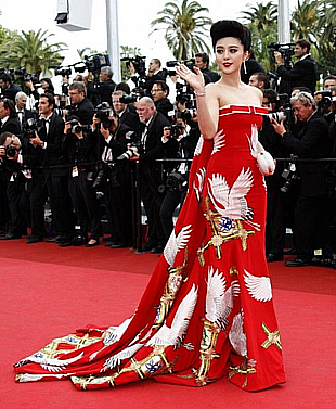 Fan BINGBING, a Chinese Film Star